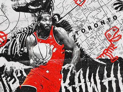 NBA Poster Series: Kawhi Leonard