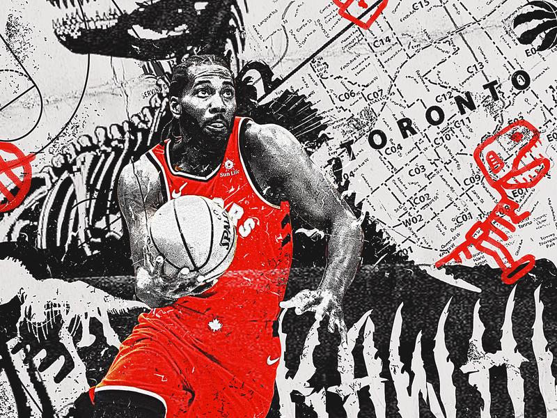 NBA Poster Series: Kawhi Leonard westbrook spurs sports graphics nba graphics nba poster graphic designer canada durant giannis harden curry lebron hoops sports basketball nba toronto raptors raptors kawhi leonard kawhi