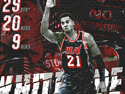NBA Poster Series: Hassan Whiteside