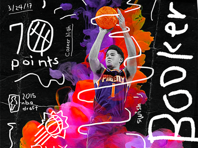 NBA Poster Series: Devin Booker