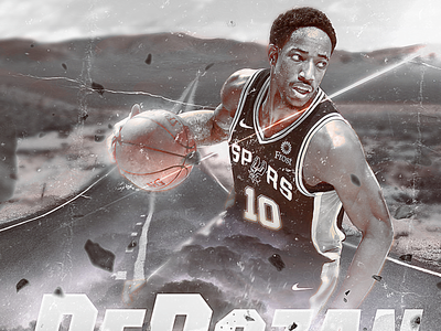 NBA Poster Series: DeMar DeRozan