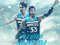 NBA Poster Series: Dario Saric & Robert Covington
