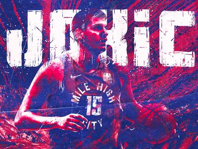 NBA Poster Series: Nikola Jokic