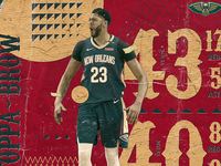 NBA Poster Series: Anthony Davis