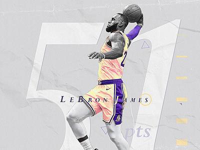 NBA Poster Series: Lebron James