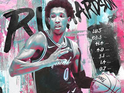 NBA Poster Series: Josh Richardson
