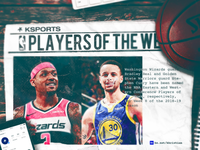 NBA Players of the Week: Bradley Beal + Steph Curry