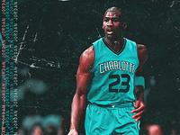 Michael Jordan x Charlotte Hornets
