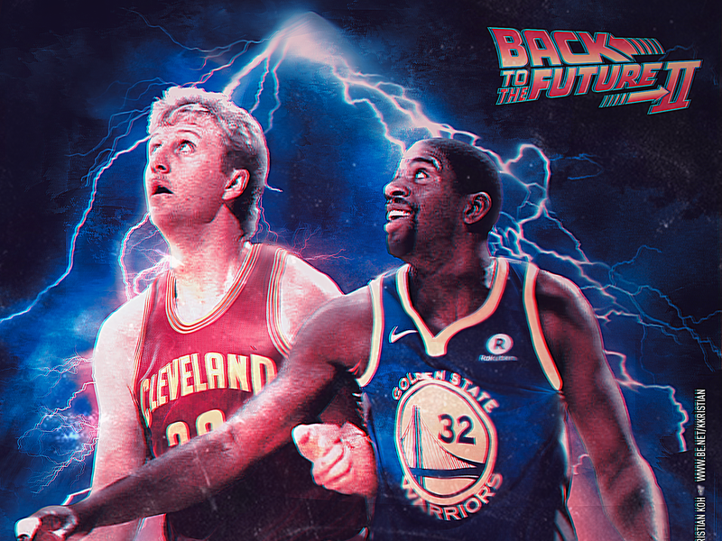 newest f7264 a7ad1 NBA x Back to the Future by Kristian Koh on Dribbble