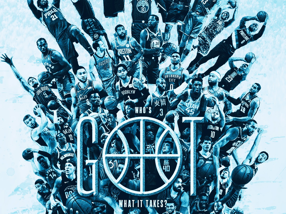 Who's GOT What It Takes? graphic design embiid durant harden giannis steph curry photoshop poster design game of thrones basketball nba playoffs nba