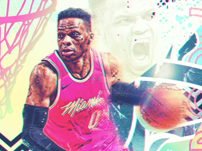 Russell Westbrook x Miami Heat