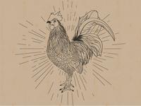 Vintage Rooster