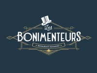 Identity for Les Bonimenteurs restaurant