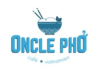 Identity for Oncle Pho restaurant