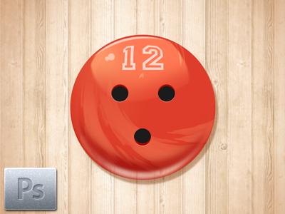 Free Bowling Ball Icon psd freebie free download icon bowling ball
