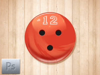 Free Bowling Ball Icon