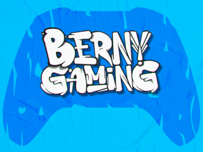 "BernyGaming Logo 2nd ""Streamer"""