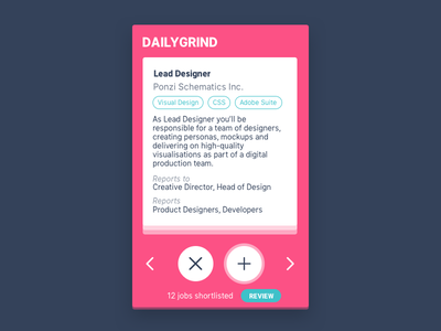 Daily UI #50 - Job Listing 🔥 daily-ui