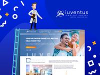 Redesign for Iuventus Medical Center