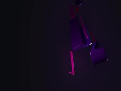 P1 typography type render octane render octane kinetic typography kinetic cinema 4d c4d branding animation abstract 3d type 3d
