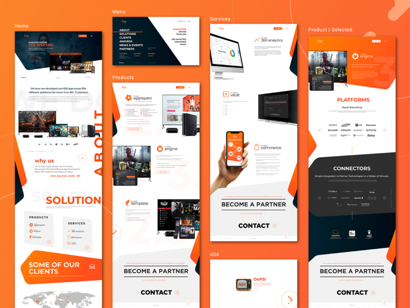 TV APP AGENCY orange tvagency tvapp tvappagency brand madeiraisland ux ui minimal webdesign design graphicdesign uxdesign uidesign uiuxdesign pauloferreiradesigner