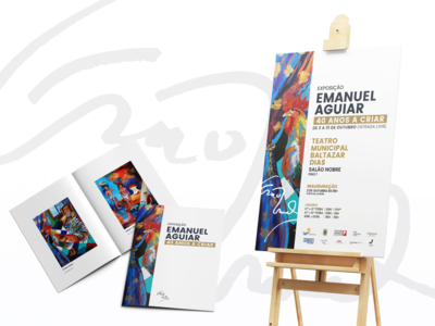 Exhibition EMANUEL AGUIAR | 40 YEARS TO CREATE