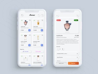 Neumorphic E-Commerce App product abstract product design cart ecommerce apple ios ui dribbble website ux design app neumorphic app app design neumorphic design neumorphic