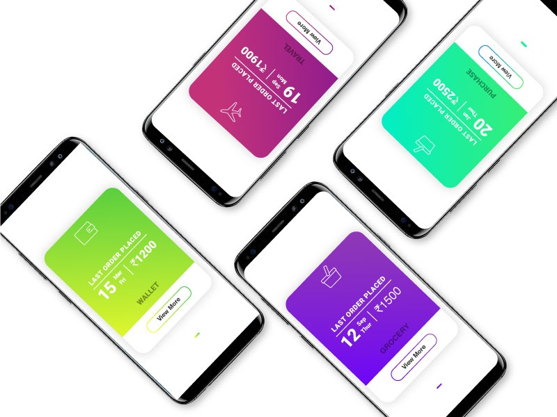 Card View UI android card ui ux ui