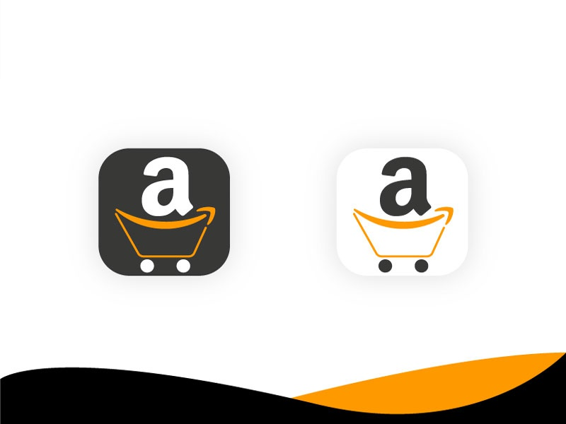 Amazon app icon concept ios app icon amazon app