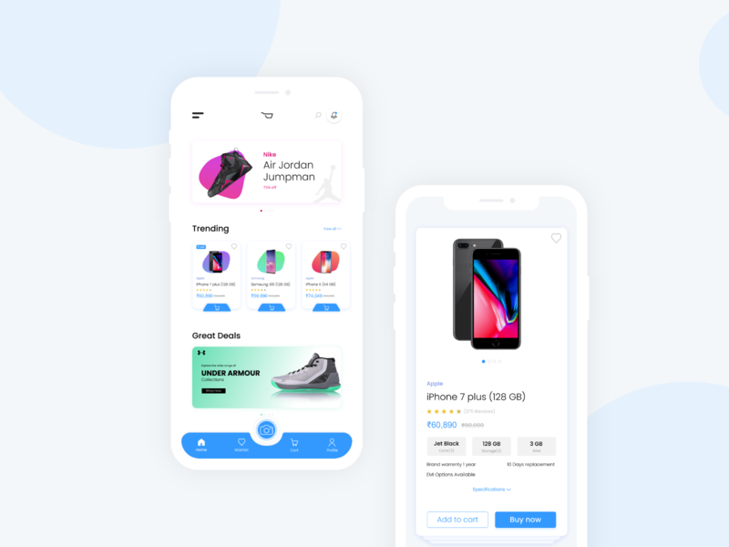 Ecommerce app concept camera icons icon navigation bar ecommerce design ecommerce shop ecommerce app ecommerce apple design ui app ios