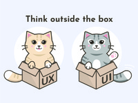 Out of the box kitties