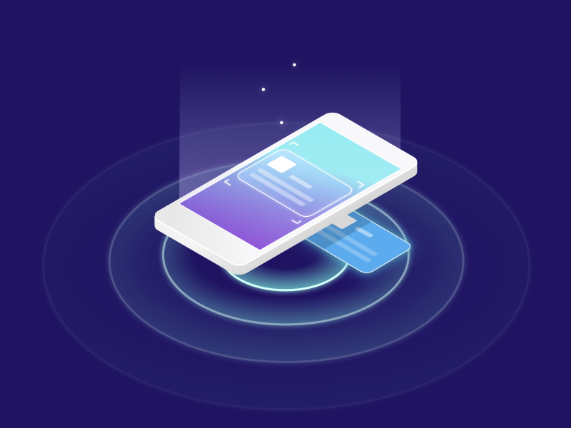 Futuristic Mobile Scan
