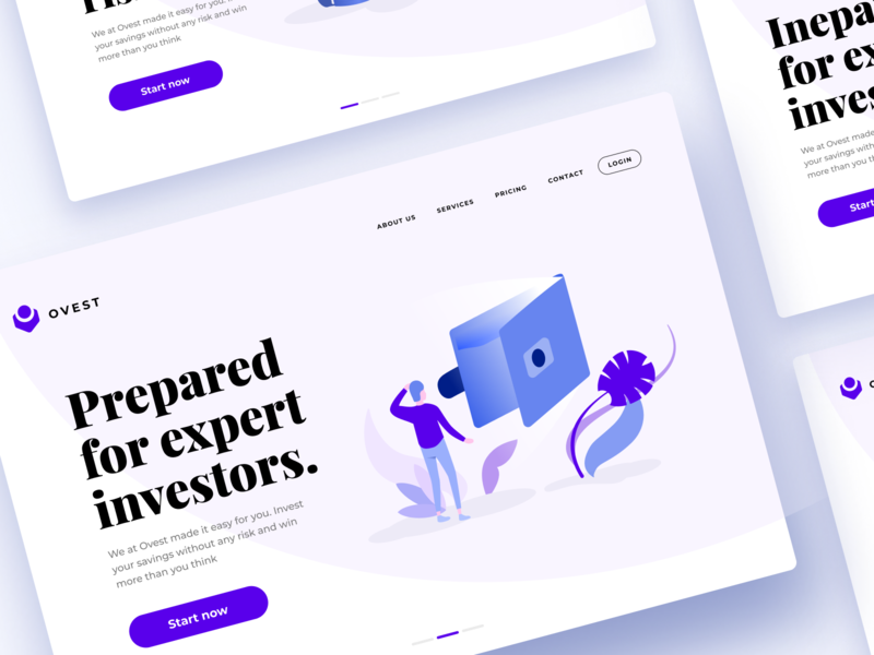 Banking Design Inspiration | Banking Illustration ux design ui design web web page vector figma sketch desktop mobile freebie digital ui ux illustration banking finances dashboard landing website app