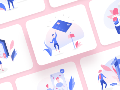 Banking Illustration Vol. 2 | New Illustration Pack