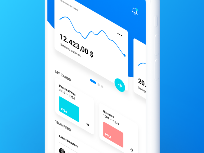 Siren UI Kit – Modern Banking App #01 fintech cryptocurrency financial bank siren ui8 kit typography design mobile ux sketch dashboard ui app banking