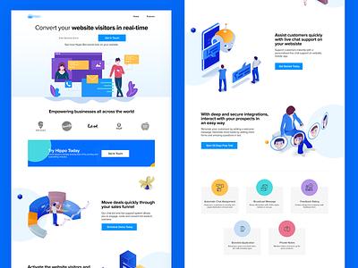 Chat Bot Website vector typography product branding website uiux interactive illustration banner graphic