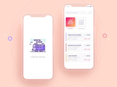Bus Booking App bus ride minimal design minimal app caravan himalayan nomad android app design transportation illustration design luxury bus search results android app baby pink flat design sleeper bus volvo bus find buses himalayan ios design bus booking