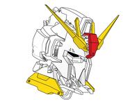 Gundam line illustration