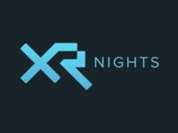 XRNights Tokyo - WIP Concept meetup xr logo branding
