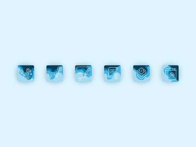 Icons onboarding icons