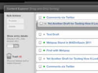 Content Explorer Comp