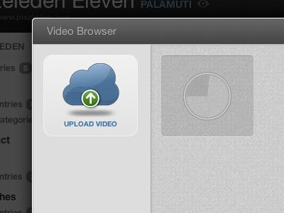 Webpop Video Browser webpop cloud app cms video browser