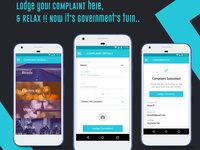 Android app to lodge complaints
