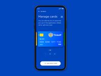 Wallet app in progress