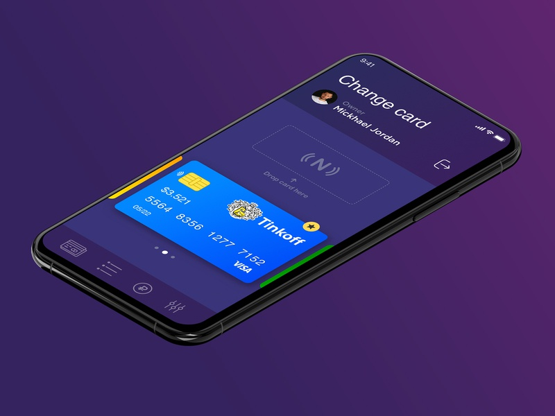 Multicard wallet mobile app design interactive app ui  ux design mobile