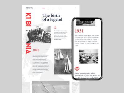K1 Britannia yacht website