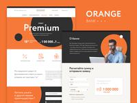 Orange Bank landing page