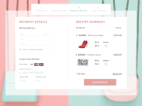 [Daily UI 002] Credit Card Checkout