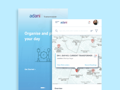 Work Order App app mobile ux design adani work order app work order management mobile ux android app