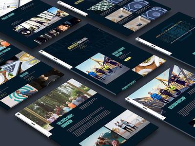 Santoro Design 2020 Studio Website ux design ui design web design website design web typography design ux ui branding
